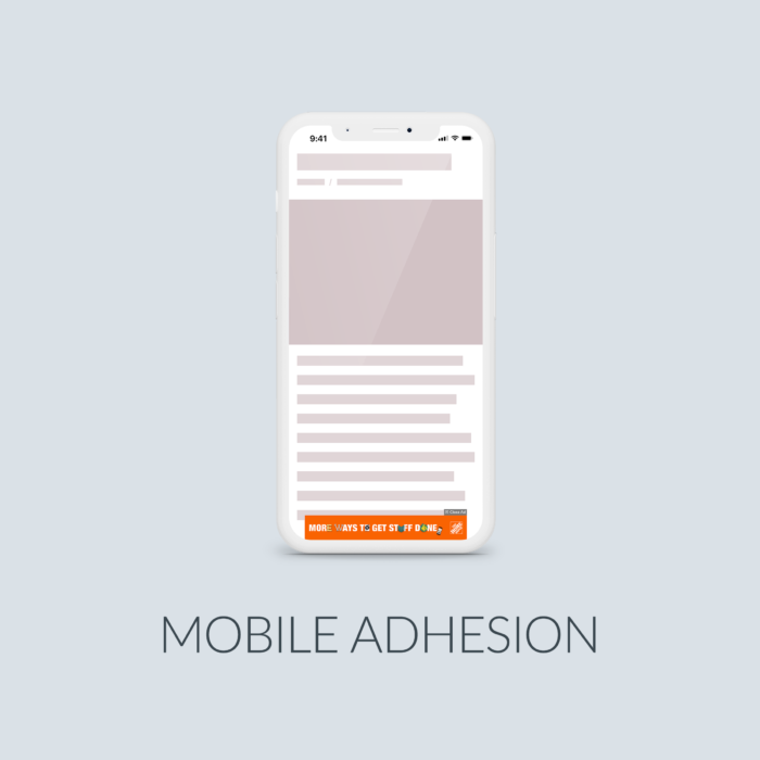 Cover Mobile Adhesion