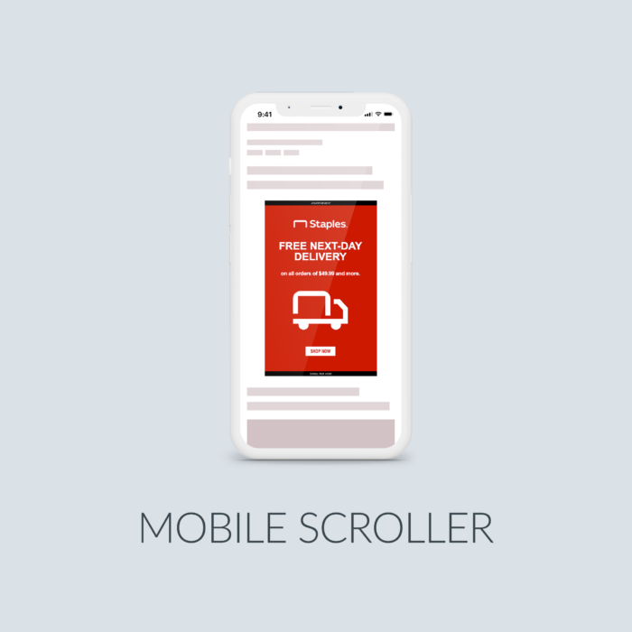 Cover Mobile Scroller