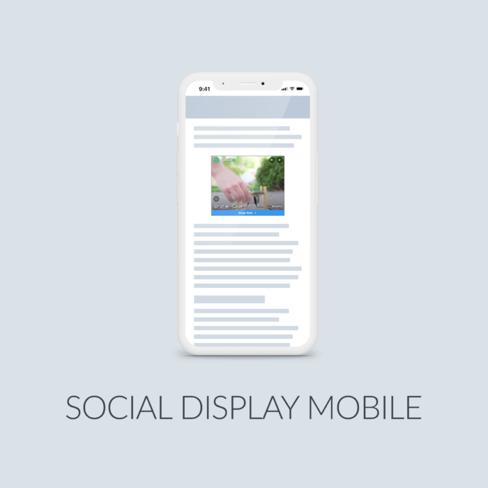 Cover Social Display Mobile