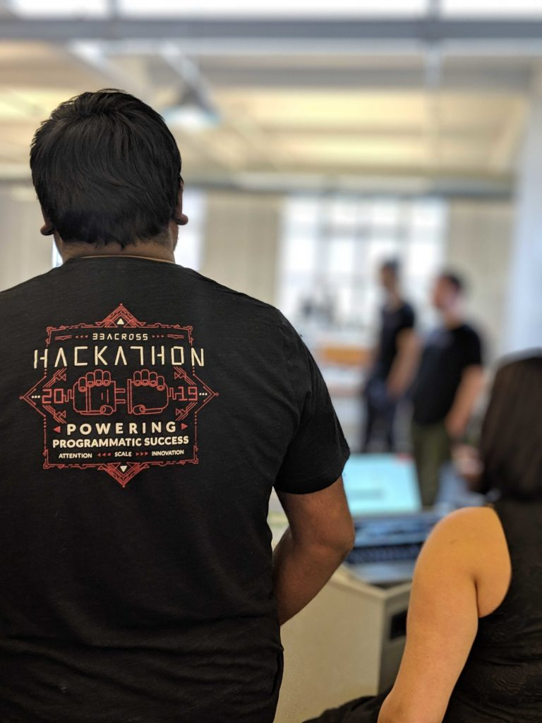 2019 33Across Hackathon